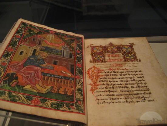byzantine-illuminated-manuscript-in-museum-monemvasia