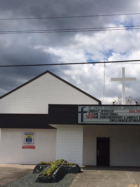 St. Paul's Lutheran Church, South Building, Chilliwack, BC